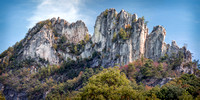 Seneca Rocks Panorama West Virginia