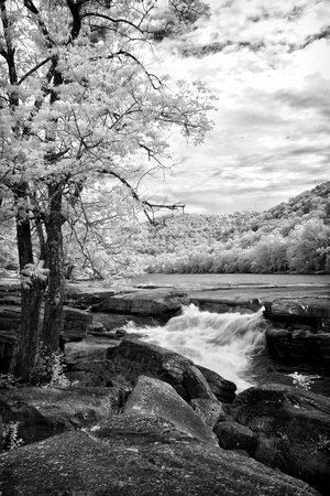 Valley Fall B&W Infrared