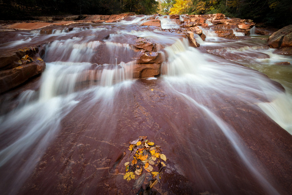 Fall at Muddy Creek Falls